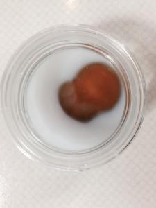 アルカリパーマ液PH9.1 10分経過